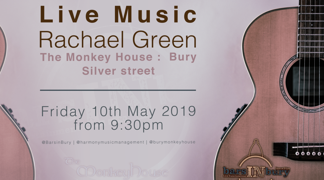 RachaelGreen_MonkeyHouse_10 May2019