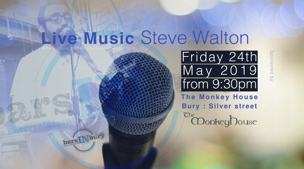 Live Music Bars In Bury May 2019